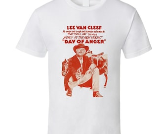 Vintage Film T-shirt Lee Van Cleef Day Of Anger