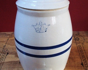 2 Gallon Crock Etsy