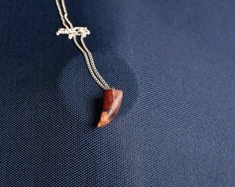 Unique Geometric Wooden Necklace