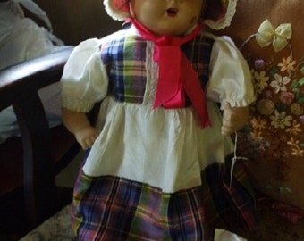 Plaything Composition Doll
