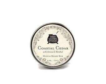 Coastal Cedar & Arnica Muscle Relief Rub