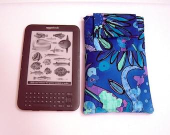 Blue and Purple Kindle Sleeve
