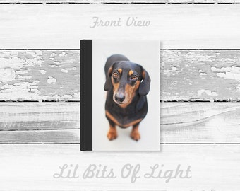 Dachshund Journal - Doxie Gift - Dog Stationary - Cute Journal for Writing - Dog Journal - Puppy Book - Hard Cover Journal  Dog Lover