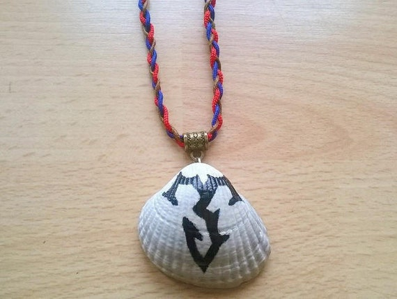 Final Fantasy X Inspired Necklace Zanarkand Abes Symbol