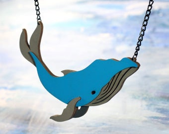 Whale Necklace - Ocean Collection