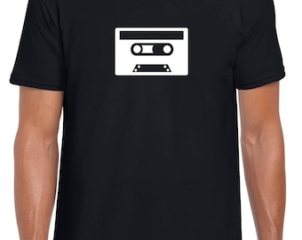 Cassette Tape - T-Shirt Various Sizes and Colours
