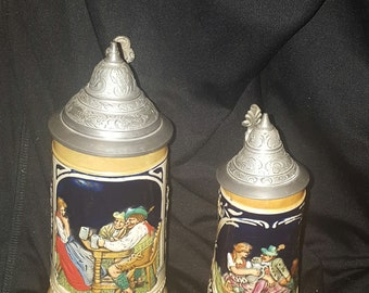 West germany beer stines