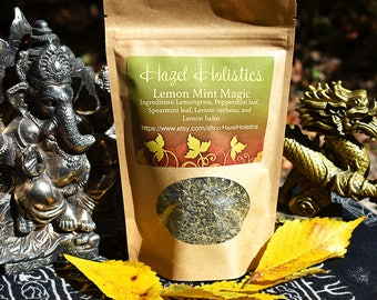 Lemon Mint Magic- Headache Relief