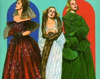 Greta Garbo Paper Dolls in Full Color 3 Figures 33 Costumes 27 Movies by Tom Tierney