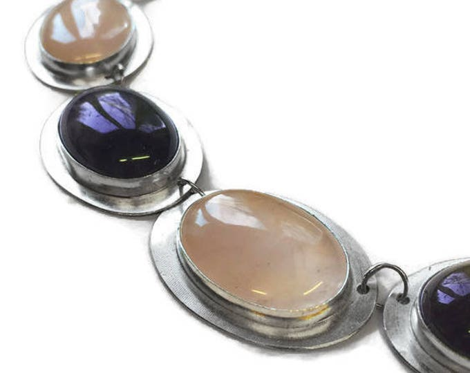 Rose Quartz & Amethyst Necklace