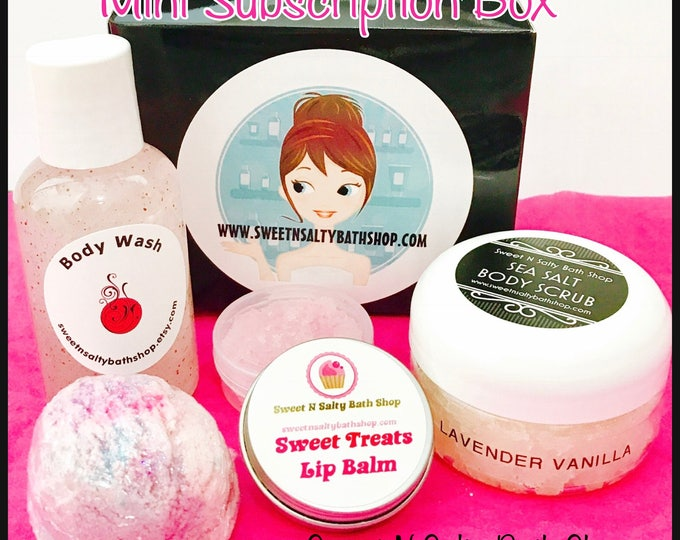 Sweet N Salty Mini Monthly Subscription Box