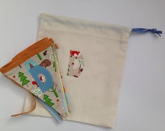 Gift Bag, handmade and personalised
