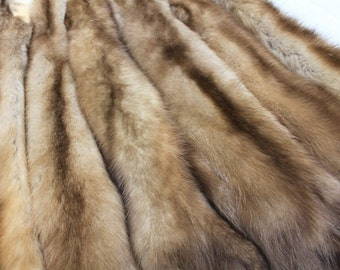 Marten pelt fur pelt natural fur, game of thrones costume, medieval clothing viking costume, fantasy fur costume, pelt cape
