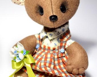 Toy teddy bear Boy