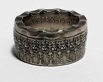 Australia 50 Cent (1977) Coin Ring