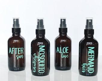 Summer Essentials Spray Bottle Labels - Enchanted Summer Set