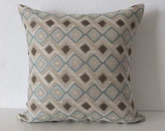 Geometric Diamond Pillow Cover