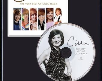 Cilla Black - Framed CD Presentation Disc Display