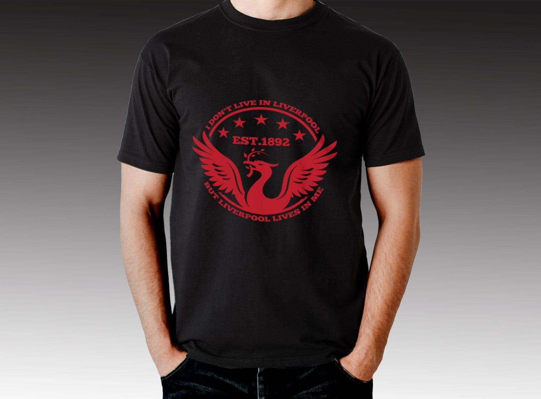 Fc Liverpool Fußball Fußball T-shirt LFC Sie nie zu Fuß