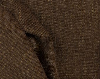 Chocolate Brown Chenille Upholstery Fabric