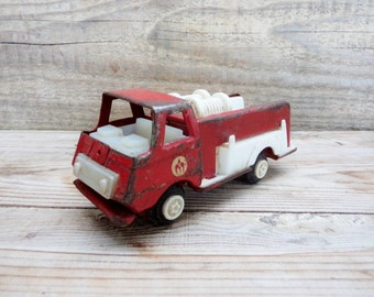Vintage Dump Truck, Dump Toy, Old Truck, Red Truck Toy, Metal Truck, Retro Truck Toy, Soviet era, Collectible Truck Toy, Toy for Boys