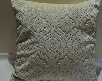 Designers Guild Fabric Royal Collection Stothard Ivory Cushion Cover / Pillow