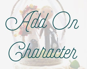 Additional Character for Cake Topper
