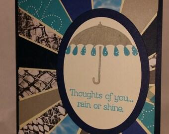 Rain or Shine, Umbrella