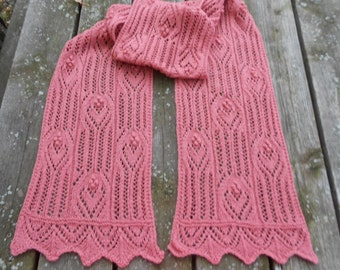 Hearts in Lace Scarf