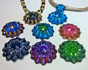 Tutorial for Gemma a Gem Duo Crystal Necklace