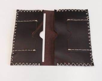 Leather Passport Cover/Credit Cards Wallet Holder/Passport Wallet Holder/Travel Passport Covers