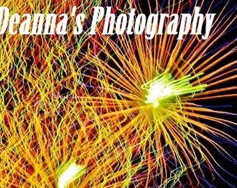 Fuegos artificiales por Deanna Bernal