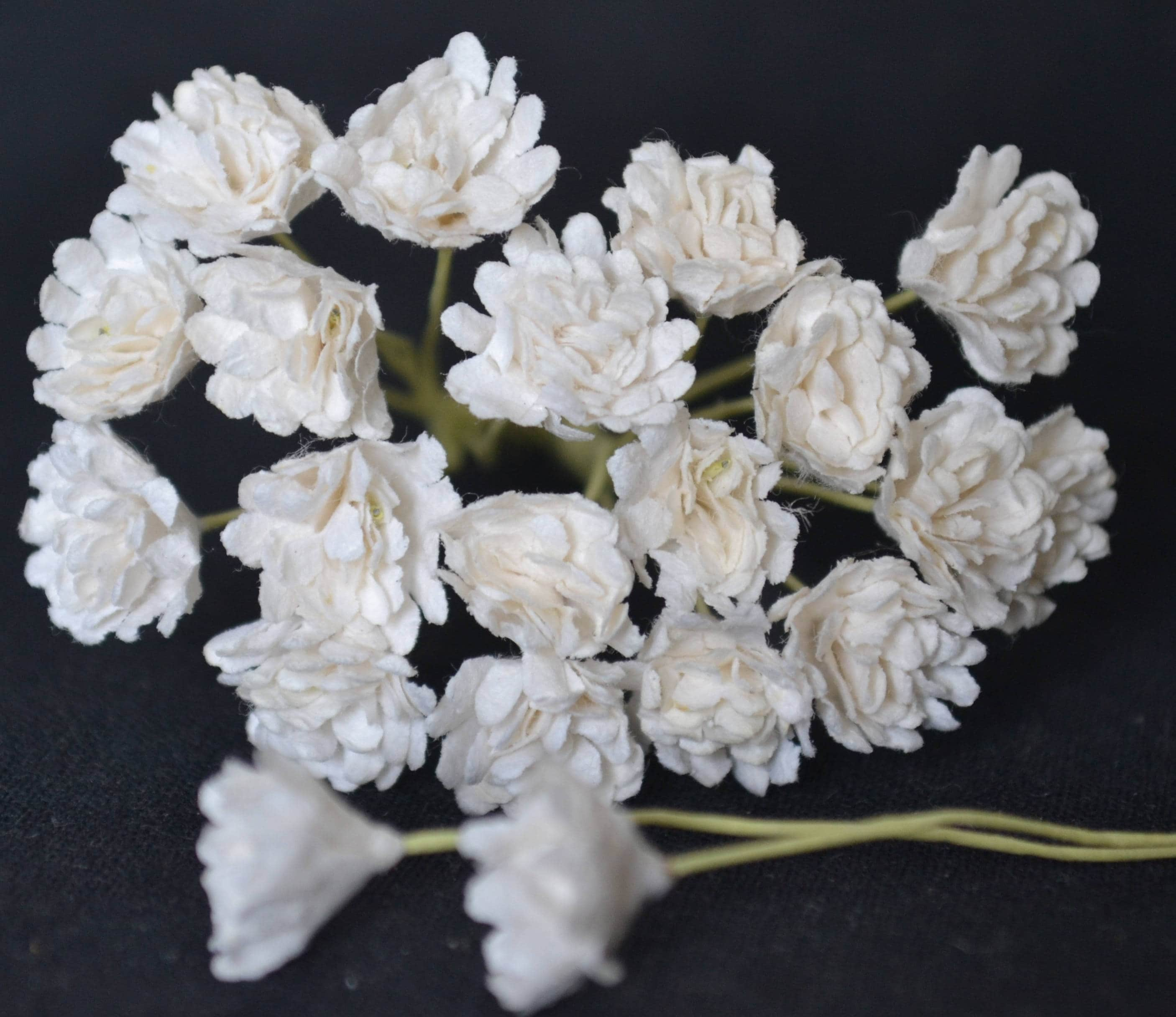 White 38 In Gypsophila Forget Me Not Mulberry Paper
