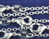 "10PCS 16inch Silver Plated O Shape Necklace Jewelry Jewelry Necklaces Chains 16"" rolo chain body chain belly chain"