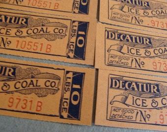 Antique Ice and Coal N0 Tickets