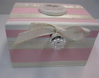 Newlywed Bridal Shower RECIPE BOX
