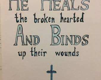 Bible Quote Poster
