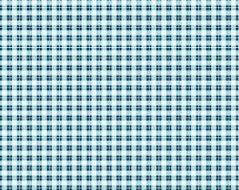 Blue Plaid from Riley Blake's Harmony Farm Collection by Shawn Wallace