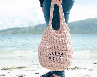 CROCHET PATTERN - Litus Beach Bag Crochet Pattern - PDF Crochet Pattern