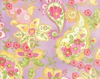 Floral Paisley in Violet COLETTE by Chez Moi ...  Purple colorway ...choose your cut  Moda 33050 14