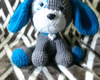 Crochet Puppy Dog Any Colors You Want