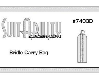 PDF Bridle Carry Bag Pattern