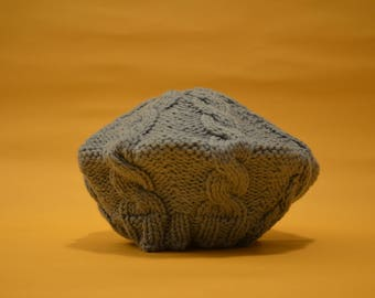 Kids' knitted beret