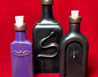 Apothecary Bottles Group J