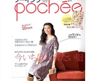Book Sewing poached vol 10 - Japanese sewing book