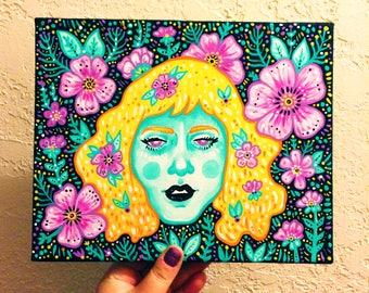 Garden Girl III Painting