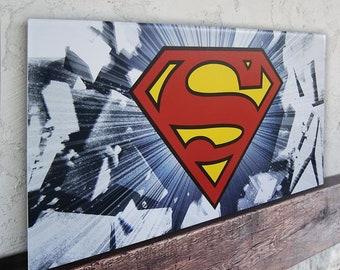 Superman Large Poster Art