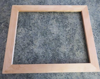 16 X 20 Yellow Birch Picture Frame