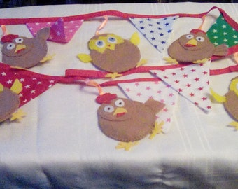 Chicken and Egg Bunting