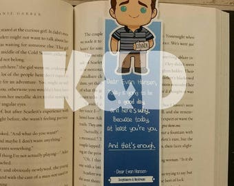 Dear Evan Hansen Inspired Bookmark